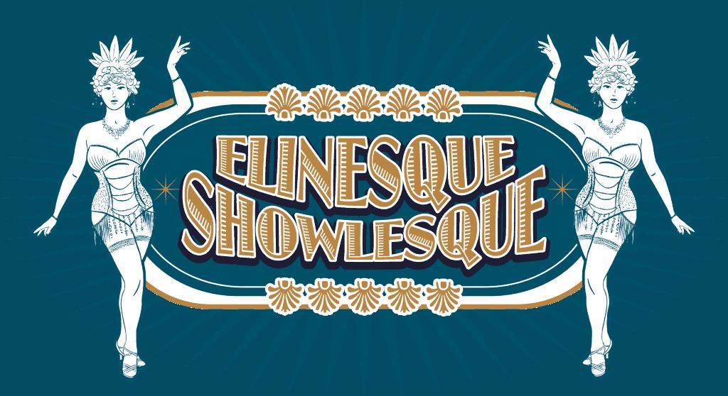 Burlesque Elinesque Showlesque Logo