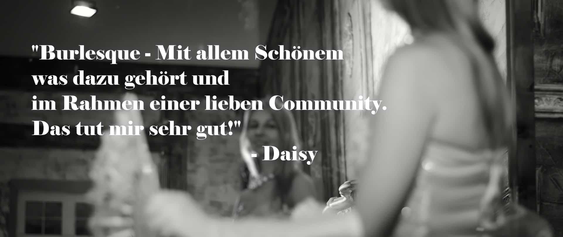 Elinesque Showlesque Burlesque Kundenmeinung Daisy