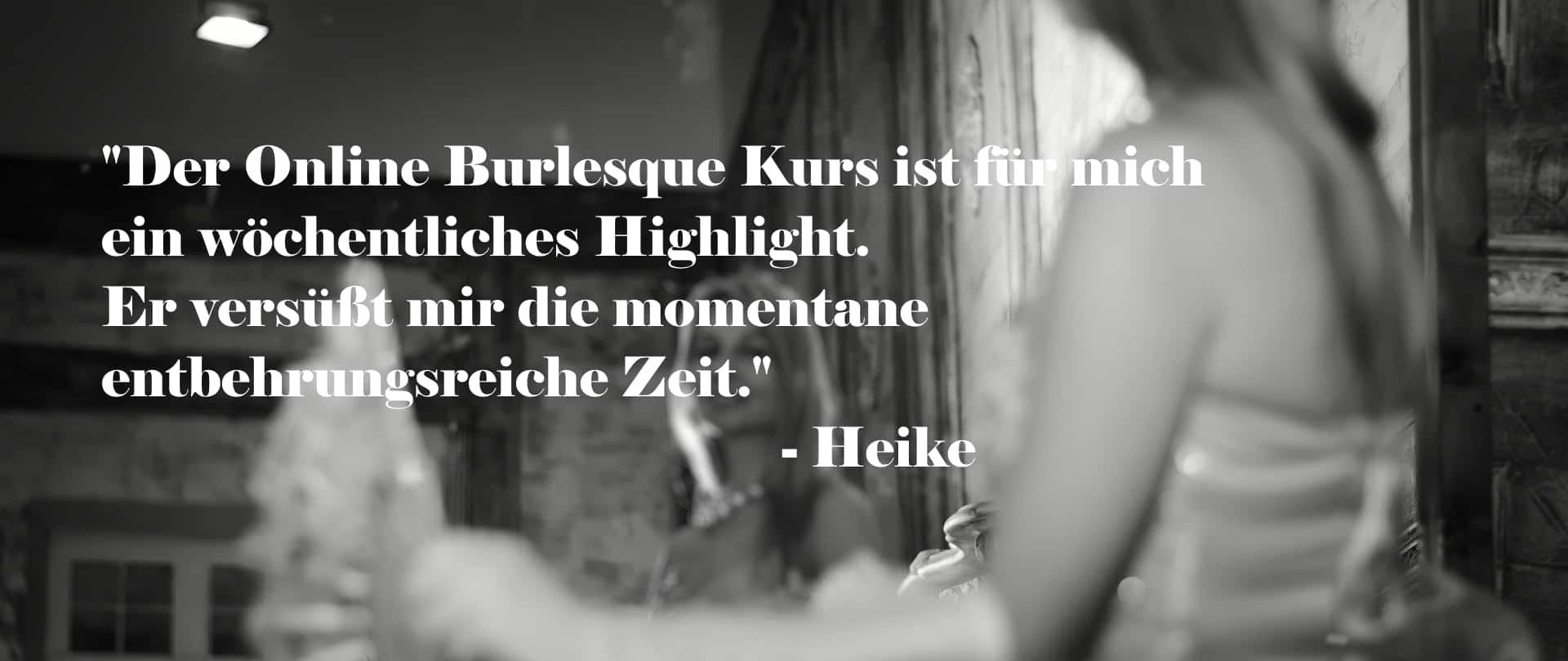Elinesque Showlesque Burlesque Kundenmeinung Heike